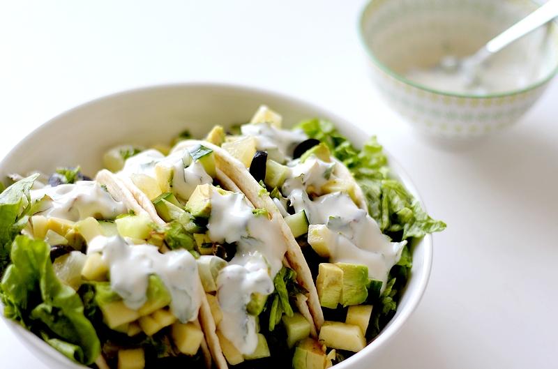 Recept wraps met avocado, appel en munt