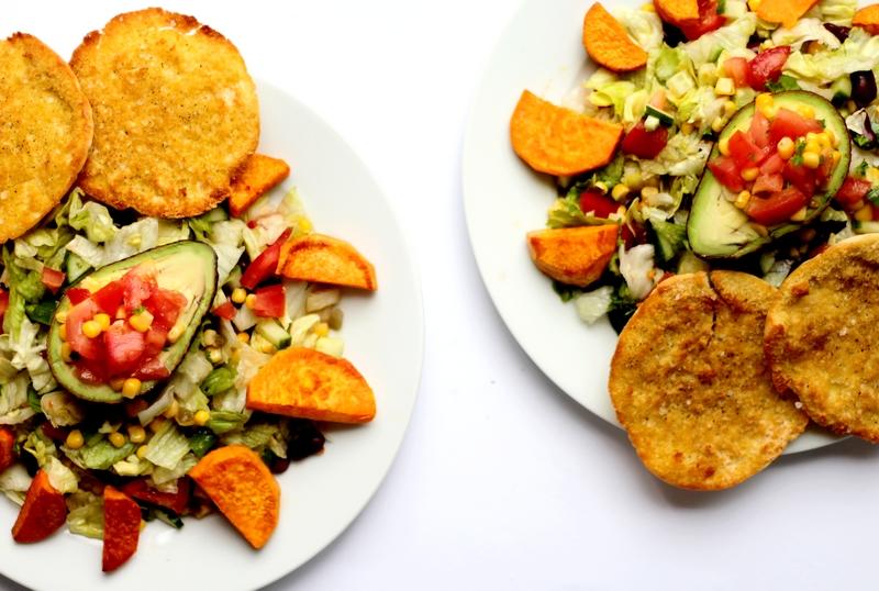 Recept kidneybonensalade met gevulde avocado en pitachips