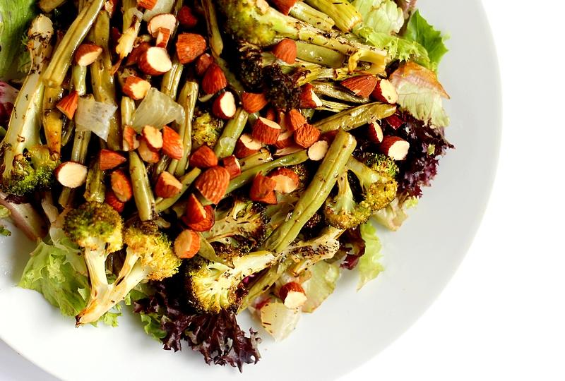Recept geroosterde groenten met citroendressing