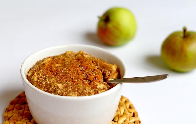 Recept vegan appel-gemberontbijt