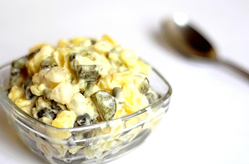Recept vegan aardappelsalade met augurk