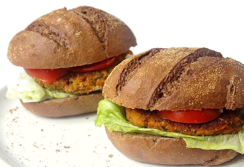 Recept vegan zoete aardappel-broccoliburgers