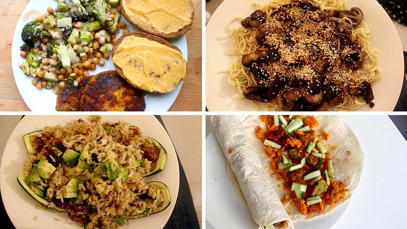 Vegan what I eat in a week 1